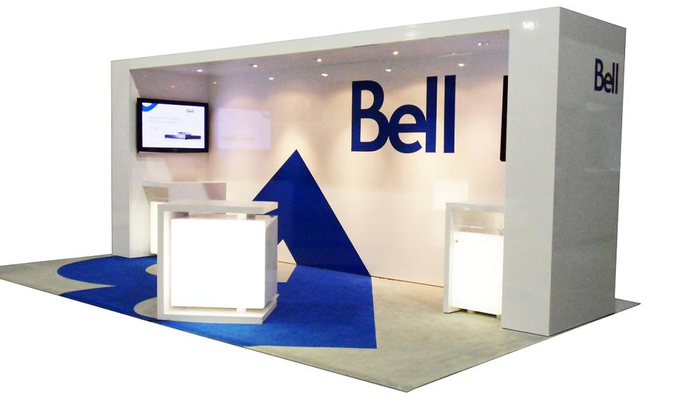 Trade Show Booth Edmonton : Bell trade show booth cedarcrestwood